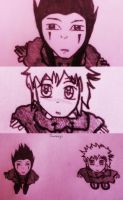 Axel and Roxas - Collage :3 by Sweepzebrine