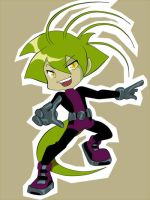 Trying Human - Beastboy Quazky by Pandablubb