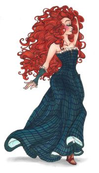 Couture Merida part 2 by Julibee-Darling
