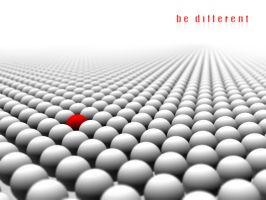 be different by sovata