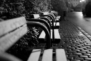 lonely benches by harecrew1992