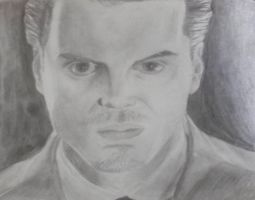 actor 4 andrew scott as Moriarty by selftaughtartist1