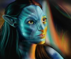 Neytiri II by Exsanguini