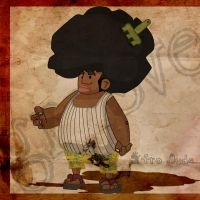 Afro Dude by schults