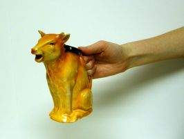 Hand Pooring Milk Cow Stock3 by D-is-for-Duck