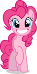 Mlp Fim pinkie pie (smile) vector by luckreza8