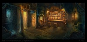 Tavern by Satibalzane