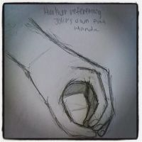 Hand sketch 1 by BrightenYourSmile