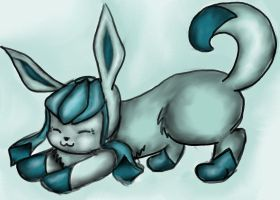 Pokemon - Glaceon by PocketRocket0116