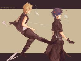 FF Versus: Wake up Noctis~!! by Fiveonthe
