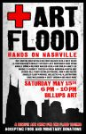 Nashville Flood Relief Art Sho by ashsivils