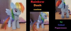 Rainbow Dash - 20% cooler rehaired by CelestPapermoon
