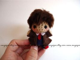 10th Doctor Amigurumi by AnyaZoe