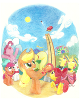 Day at the Carnival by Videogamer-Phil