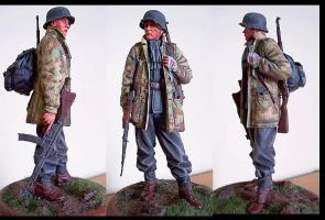 German Soldier WWII by dlesko250