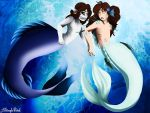 Two sirens  by ASinglePetal