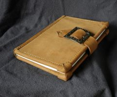 Hand made bookbind - front by Kiscien