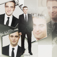 Robert Pattinson Png and Photopack by BuseGrant