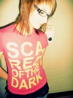 Scared of the Dark. by courtniefelicia