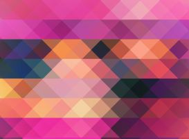 Pink Triangle Mosaic by R2krw9