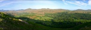 Eskdale Panorama by scotto