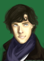 Young Sherlock by MightyPineapple