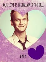How I Met Your Mother Valentines: Barney2 by ooolalina