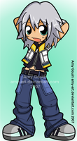 Riku - Kingdom Hearts by amy-art