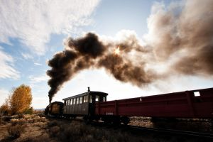 Sumpter Train by SonjaPhotography
