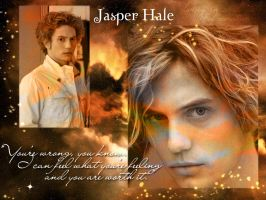 Jasper Hale - Wallpaper by Alice-Cullen93
