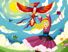 Kites by monkeykaos