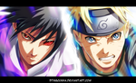 Naruto 694 - Sasuke and Naruto by StingCunha