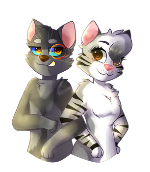 JUST CATS by Mad-Scientist-Kitten