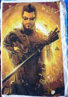 Adam Jensen - Cross Stitch Hi-Res 07 by Snake-Fangirl