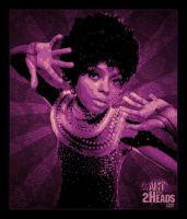 Diana Ross by Artby2Heads
