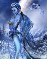 Aura of Wintry Warmth by RavenMoonDesigns