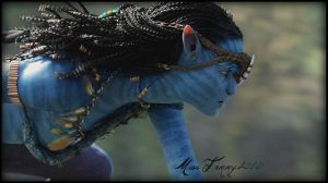 Neytiri on the Sturmbeest Hunt by RockerMissTammy