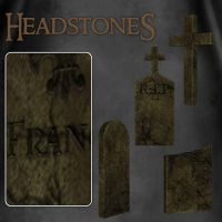 Headstones 1 by zememz