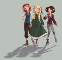 The Doppler Girls... by ajie-g