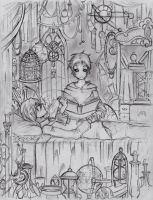 Sketch 2: lullaby by Devious-Rookie