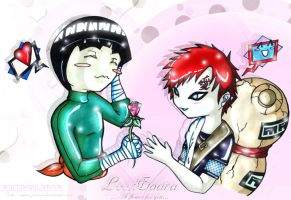 +:A flower for you:+NarutoYaoi by Ludra-Jenova