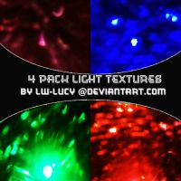 4 Pack Light Textures by LW-Lucy