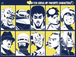 My fav 10 peeps by ZEBES