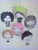 Chibi Playlist For The Day by SamanthaKyle