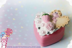 Sweet Strawberry Box by CandyStripedCafe