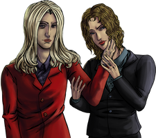 Lestat and Marius by shirgane777