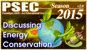 PSEC 2015 Discussing Energy Conservation by paradigm-shifting