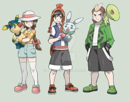 Pokemon Nepheline - Meet the dudes by afo2006