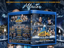 Wwe Wrestlemania XXIX Blu-ray Cover by Mohamed-Fahmy