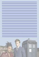 Martha and the Doctor Stationery by pfeifhuhn